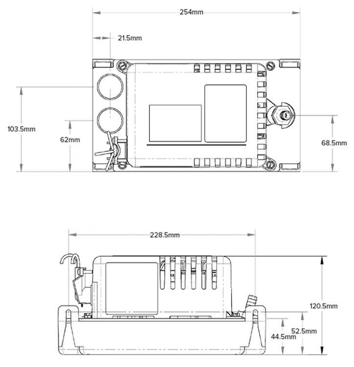 HT-KL-1DG Technical Diagram